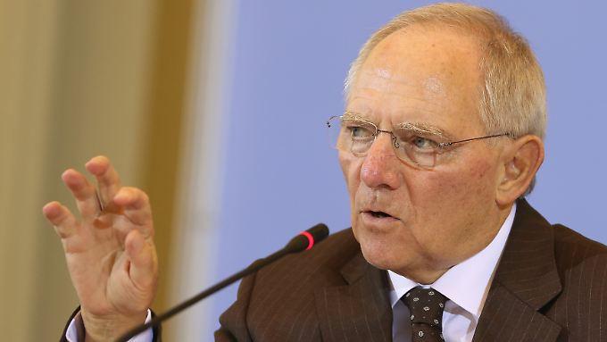 Finanzminister Schäuble setzt beim G20-Treffen weiter auf eiserne Haushaltsdisziplin.