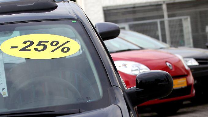 Bei einigen Händlern liegen die Rabatte zur Zeit bei über 25 Prozent.