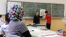 13 Prozent der Jugendlichen mit ausländischen Wurzeln brechen die Schule ab.