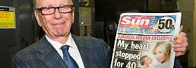 Das boomende Geschäft mit Kabelfernsehen hat dem Medien-Imperium von Rupert Murdoch einen Gewinnsprung beschert.