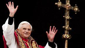 n-tv 2005: Ein Deutscher wird Papst