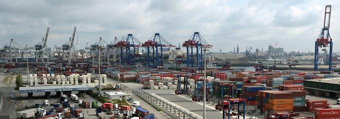 Deutschlands Tor zur Welt: Der Hamburger Hafen.