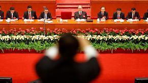 KP China hält Parteitag: Hu Jintao warnt vor Korruption
