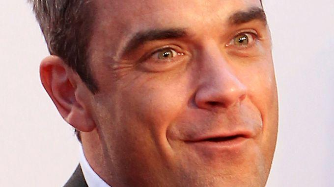 Früher ein ganz Wilder:  Popstar Robbie Williams.