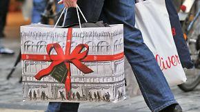 Geld sitzt lockerer: Weihnachtsgeschäft hat begonnen