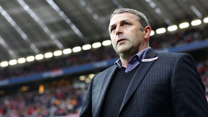 """""""Mir liegt kein Angebot des VfL Wolfsburg vor"""": Klaus Allofs."""