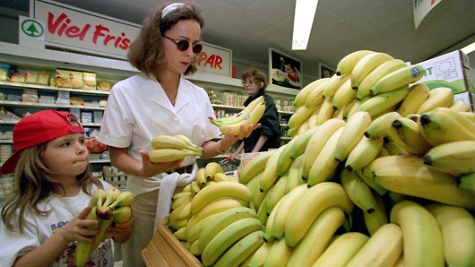 Seit den 1990er Jahren hatte der Streit um südamerikanische Bananen in deutschen Supermärkten die WTO beschäftigt.