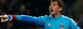Zurück im Kreise der Besten: René Adler, Torhüter des Hamburger SV.
