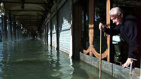 Die meisten Venezianer bleiben gelassen, wenn die Sirenen ertönen.