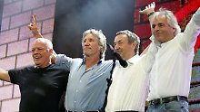 Dave Gilmour, Roger Waters, Nick Mason und Rick Wright.