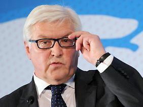 Steinmeier rechnet fest mit einem weiteren Schuldenschnitt.