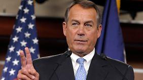 Boehner plädiert dafür, die Steuerschlupflöcher zu schließen.