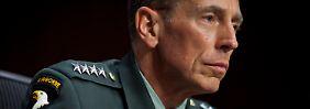Lange ein Vorzeigesoldat: David Petraeus.
