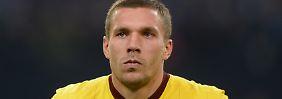 Die Torquote stimmte zuletzt nicht mehr, die Einstellung von Lukas Podolski schon - findet sein Trainer.