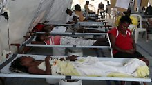 """Nach """"Sandy"""" gab es zahlreiche Fälle von Cholera in Haiti."""