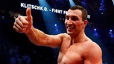 """Weltmeister von einem anderen Stern: Klitschko begeistert """"Rocky"""""""