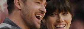 Justin Timberlake und Jessica Biel unterstützen Sturmopfer in New York.