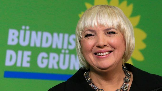 Claudia Roth: den Wahlkampf im Blick.