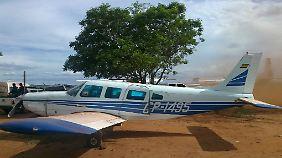 Eins der fünf Flugzeuge, die konfisziert wurden.