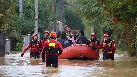 Überschwemmungen gibt es in Italien im Herbst und Winter häufig.