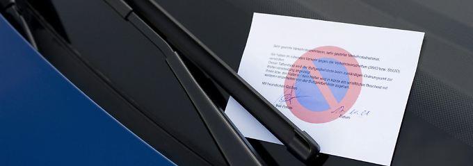 Wer Knöllchen sammelt, muss mit dem Entzug der Fahrerlaubnis rechnen.