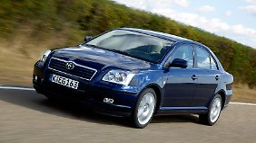 Mit 40.440 Fahrzeugen ist der Toyota Avensis das von dem Fehler am häufigsten betroffene Fahrzeug.