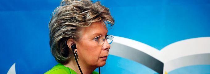 EU-Komissarin Viviane Reding.