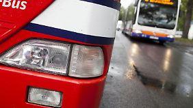 Beleuchtung, Rost, Bremsen: Viele Busse haben erhebliche Mängel