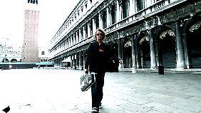 Gary Marlowe in seiner ehemaligen Wahlheimat Venedig. (Foto:© Ernst Hofacker)