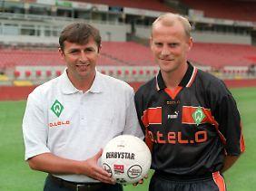 Dreizehn Jahre lang arbeiteten Manager Klaus Allofs und Trainer Thomas Schaaf gemeinsam bei Werder Bremen.