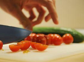 Schneidebretter aus Plastik werden vor allem  gastronomischen Einrichtungen empfohlen.