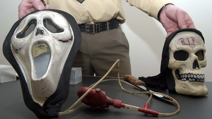 Der Mörder mit der Totenmaske: Täter muss in Sicherheitsverwahrung