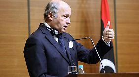 Frankreichs Außenminister Laurent Fabius.