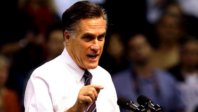 Mitt Romney versucht, seine Niederlage zu erklären.
