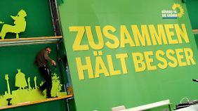 Parteitag beginnt: Grüne suchen ihre Position