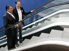 Rolltreppe aufwärts für die Genossen?