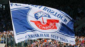 Hansa Rostock spielt seit der Saison 2012/2013 nur noch in der 3. Liga.
