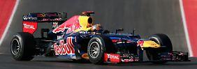 Vettel hat große Chancen auf den Gesamtsieg in Brasilien.