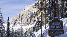 Wir sind wieder zu Gast in Alta Badia in den Dolomiten von Südtirol.