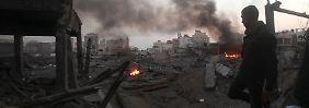 Immer mehr Tote im Gazastreifen: Israel setzt Angriffe fort