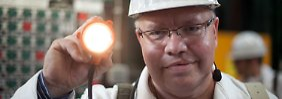 Atommülllager sind eine gewaltige Baustelle für Umweltminsiter Altmaier. Im Juni besuchte er die marode Asse.