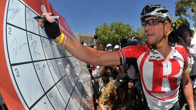 Armstrong wurde Ende Oktober lebenslang gesperrt.