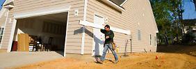 Zum Traum vom Eigenheim zählt in den USA insbesondere auch eine stattliche Garage.