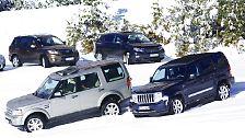Marktübersicht SUVs: Die echten Kerle