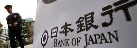 Bank of Japan lässt ihr Anleihekaufprogramm erst einmal ruhen und wartet ab.