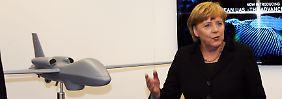 Kanzlerin Merkel wollte unbedingt verhindern, dass Frankreich mehr Einfluss als Deutschland auf EADS bekommt.
