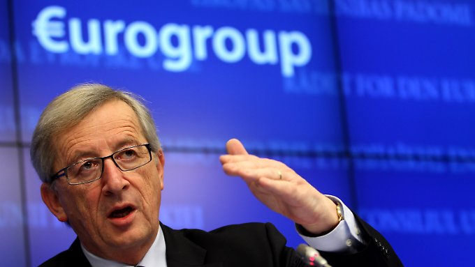 """""""Keine Illusionen mehr"""": Die Arbeit als Euro-Gruppen-Chef macht Jean-Claude Juncker bescheiden."""