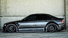 Aber jetzt raten Sie doch mal, ob dieser 3er BMW - ein E46 im Übrigen - einem Mann oder einer Frau gehört. Na, wer würde wohl so tunen? Ein Mann? Falsch! Der Wagen gehört einer Frau.