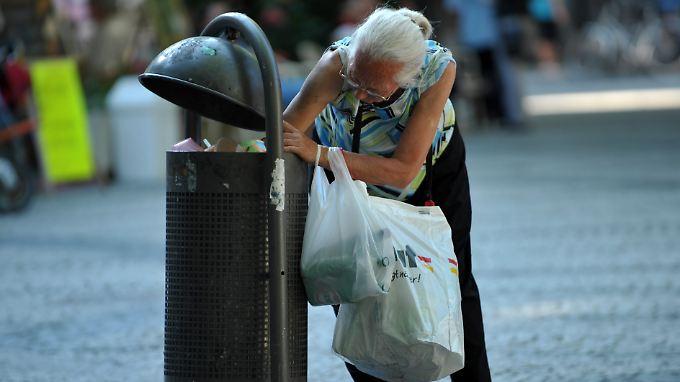 Armut trifft bis zu 16 Prozent der Bevölkerung.