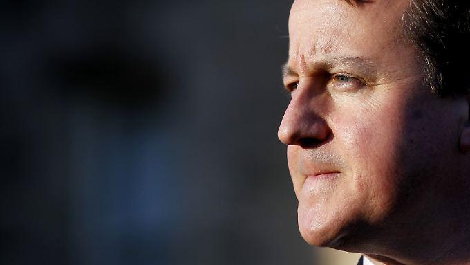 David Cameron vertritt die traditionelle britische Haltung in Europafragen: dagegen.